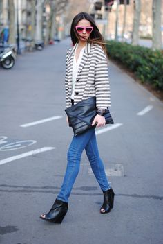 Stripes...one of my most favorite looks