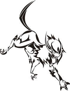 Pokemon Absol Tattoo Idea