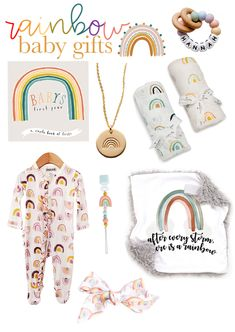 the best rainbow baby gifts