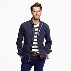 Victura jacket - cotton - Men's outerwear - J.Crew