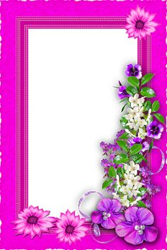 Boarder Designs, Page Borders Design, Cute Flower Wallpapers, Flower Backgrounds, Flower Background Design, Hello Kitty Photos, Boarders And Frames, 2 Clipart, Lion Tattoo Design