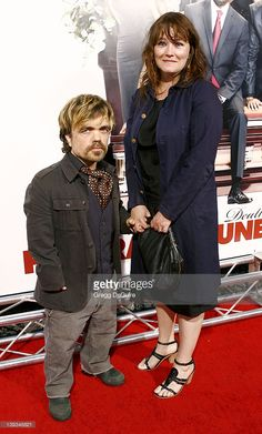 News Photo : Peter Dinklage and guest attend the 'Death At A...