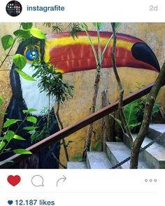 #CONCONCON  uma pintura que fiz escondidinho em Moreré, Bahia.