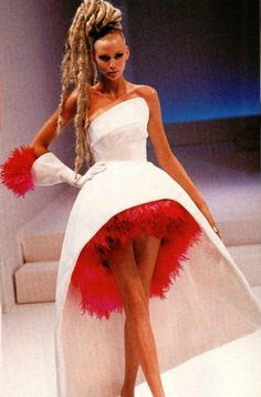 *SWEET HAIR!!!!!!* (Thierry Mugler Haute Couture SS 1999)
