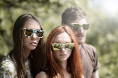 A shooting in one of the warmest day of this summer Jovana, Roxana and Matteo were also posing for uptitude eyewear!  Photo by: Luca Meneghel  Uptitude: eyewear recycling snowboard