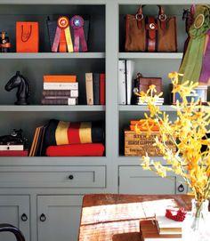 equestrian home decor featuring Rebecca Ray Designs handbag