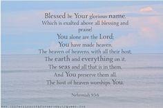 Nehemiah 9:5-6