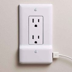 This outlet plate with a USB charger built-in ($38 to preorder)