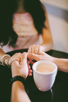 Summer Sweet Coffee Shop Engagement At EQ Heights In Texas | Photograph by Civic Photos http://storyboardwedding.com/summer-coffee-shop-engagement-eq-heights-texas/ #engagementphotography