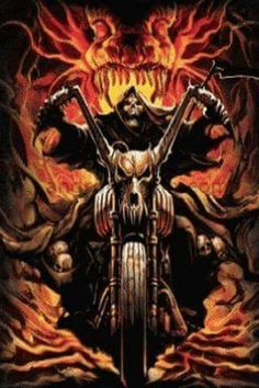 Looks like Ghost Rider to me.