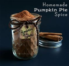 Homemade Pumpkin Pie Spice Blend Recipe