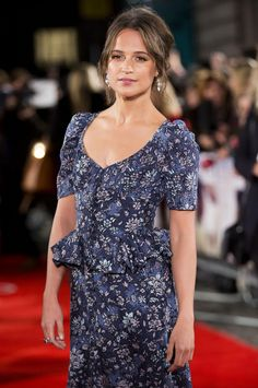 Alicia Vikander | 'The Light Between Oceans' London Premiere