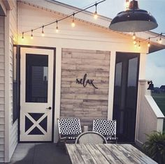 Ideas For Cute Apartment Patio Ideas Backyards Style At Home, Outdoor Spaces, Outdoor Living, Sweet Home, House With Porch, The Design Files, House Goals, My New Room, Home Fashion