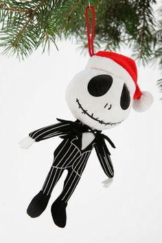 Nightmare Before Christmas Plush Ornament #urbanoutfitters