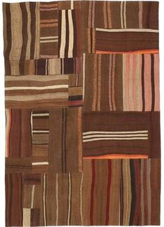 weave a patchwork rug