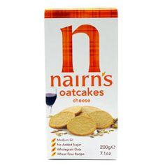 Nairn's Oatcakes...Black Pepper, Original or Cheese nairn's