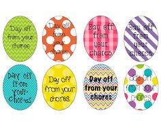 Lucky to Be in First! Easter Egg Coupons