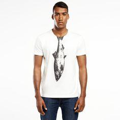 T-Shirts Kurzarm uni - Herring T-shirt - SELVA - ein Designerstück von SelvaStore bei DaWanda