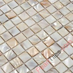 Natural Color Shell Tiles Natural Mother Of Pearl Mosaic Tiles - Freshwater Shell Tiles - Shell Tiles