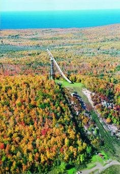 Copper Peak Adventure Ride - Attractions in Michigan's Upper Peninsula - UPTRA