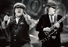 ACDC-Brian-and-Angus-Rock-BW-POSTER