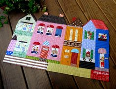 Houses placemat