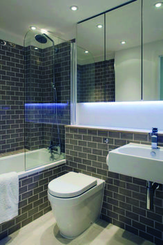 Advanced bathroom mirror cabinet images that will impress you Mirror Cabinet With Light, Bathroom Mirror Cabinet, Mirror Cabinets, Diy Cabinets, Washroom, Plywood Countertop, Countertops, Stock Kitchen Cabinets, Cleaning Materials
