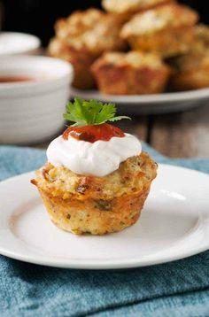 Gluten-Free Mexican Mini Quiches