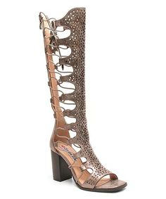 c4372389d9d5e Love this Pewter Starshines Gladiator Sandal on  zulily!  zulilyfinds Lace  Up Gladiator Sandals. Lace Up Gladiator SandalsBootie SandalsOpen Toe ...