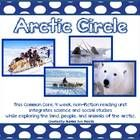 This is a four week Common Core, Non Fiction reading unit that explores the arctic circle.  It is integrated with science and social studies and examines the arctic lands, climate, people, and animals.  This unit includes lesson plans and all reading response, extension and assessment materials needed for an entire month! $