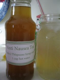 """Ginger Syrup can make not only traditional Gingerale, but can be made into a Ginger """"Tea"""" to help with nausea. Would make a great gift for someone suffering from morning sickness, or Chemo treatments, or even the stomach flu!"""