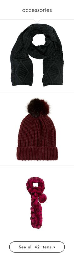 """""""accessories"""" by evenaka ❤ liked on Polyvore featuring accessories, hats, black, brimmed beanie, embroidered beanie hats, sequin beanie hat, beanie cap hat, brimmed hat, scarves and heavy"""