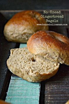No-Knead Gingerbread Bagels