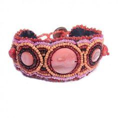 Bracelet Indi Chic perles et nacre, joli et pas cher !