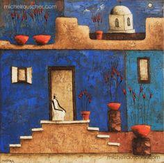Michel RAUSCHER   Peintures - Huile sur toile - 50 x 50 cm - 2011