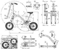 Bicycle Drawing, Motorized Bicycle, Harley Bikes, Iron Art, Technical Drawing, Bike Design, Techno, Raiders, Electric Motor