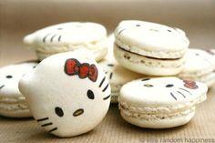 too cute to eat! HK macarons!