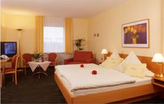 Guest room, Hotel Stadt Cuxhaven, #hotel #Cuxhaven