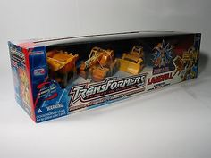 Transformers RID - Landfill (Yellow) Collectible Action Figure