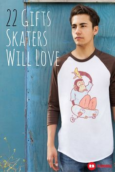 What do you get for the guy on four wheels? We've got perfect artist-designed gifts that skateboarders will love. #skater #skateboard #holiday #gifts