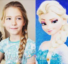 Aj tá vaša chce byť ako Elsa? S týmto jednoduchým, no dokonalým účesom môžu po svete behať milióny princezien! 😍 #detskekadernictvo #detskekadernictvotrnava #elsa #princess #hairstyle #newhair #littlegirl