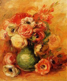 Pierre-Auguste Renoir   Flowers   c.1901