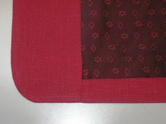 Sigrid - sewing projects: Bagging a lining, where the front facing meets the lining