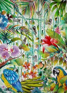 Hanging Around - Kate Morgan - Artist & Illustrator