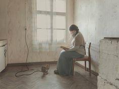 Photographed in 2019 Evgenia Arbugaeva (Russian, b. 1985) in the arctic region of Chukotka Woman Reading, Prints For Sale, Art Day, Fine Art Prints, Arctic, Art Prints, North Pole