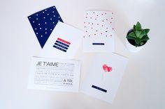 Jolies cartes et étiquettes pour son amoureux - Vie de Miettes