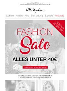 Mode-Highlights unter 40 € - Großer Fashion Sale