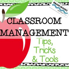 Over 50 pages of classroom management tools for classroom set-up, positive interactions with students, ways to celebrate students, and tips for classroom management success!