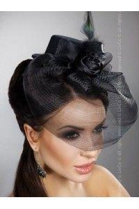 voilettes coiffes peignes bibi chapeaux retro vintage mariage - Bibi Mariage Voilette