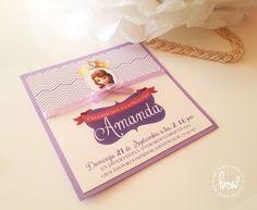 Invitación de Princesa Sofia